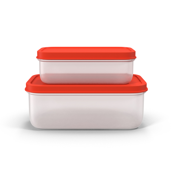 Plastic Food Containers Object