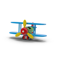 Toy Airplane Object