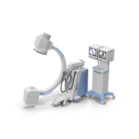 C-Arm X-ray Machine PNG & PSD Images