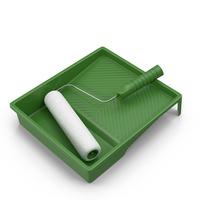 Paint Roller Kit PNG & PSD Images