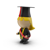 Cartoon Female Student PNG & PSD Images
