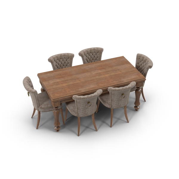 Dining Room Set PNG & PSD Images