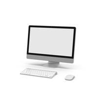 Modern Computer Setup PNG & PSD Images