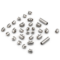 Silver Pipes and Fittings PNG & PSD Images