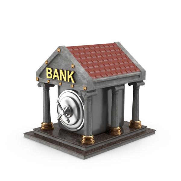 Cartoon Bank PNG & PSD Images