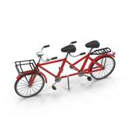 Tandem Bicycle Object