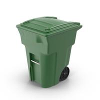 Green Trash Bin PNG & PSD Images