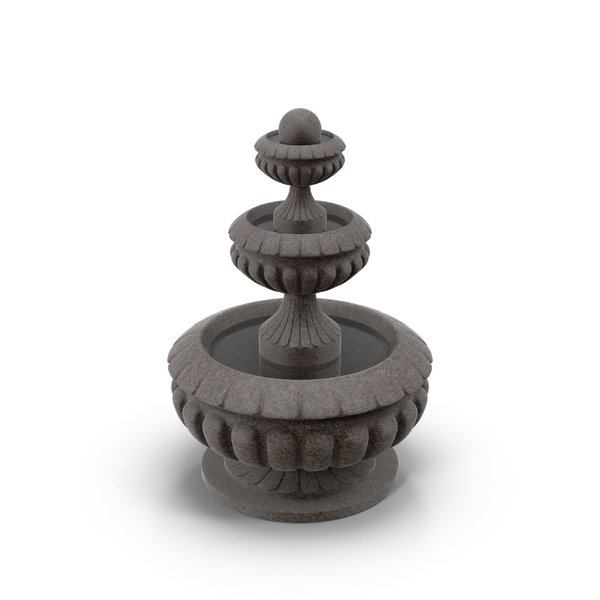 Stone Fountain PNG & PSD Images