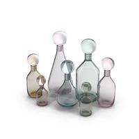 Glass Bottles Object