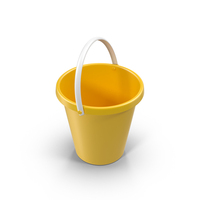 Yellow Bucket PNG & PSD Images
