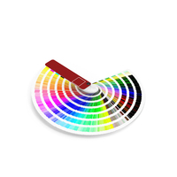 Color Guide Booklet PNG & PSD Images