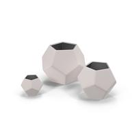 Geometric Vase PNG & PSD Images