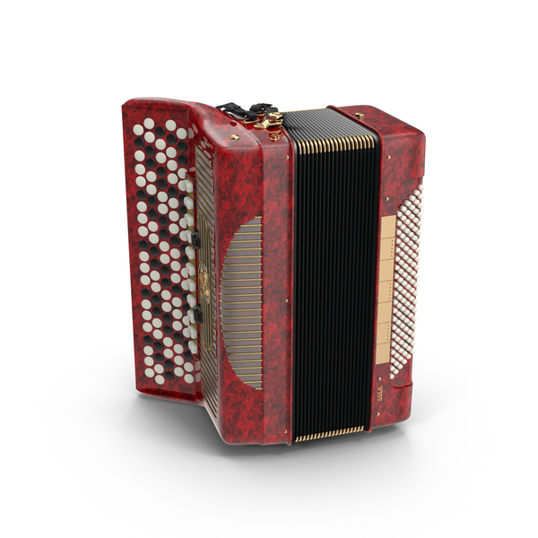Button Accordion Object