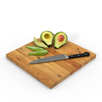 Cutting Avocado PNG & PSD Images