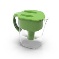 Water Filter Jug  Object