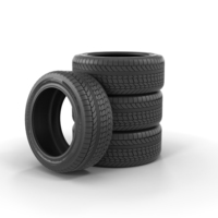 Tire Product Set PNG & PSD Images