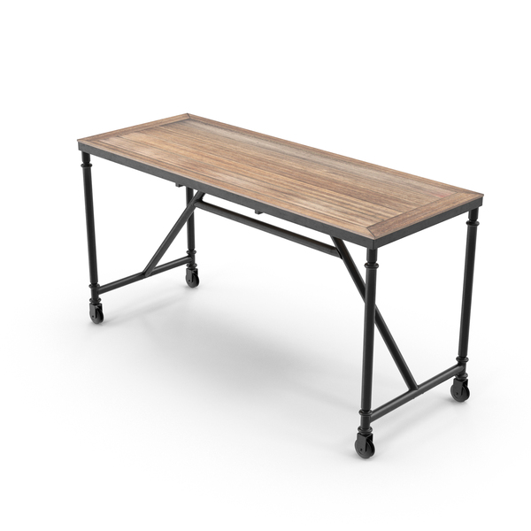 Industrial Desk Object