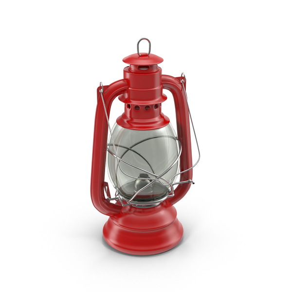 Red Oil Lamp PNG & PSD Images