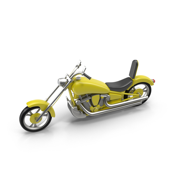 Chopper Motorcycle PNG & PSD Images