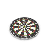 Dartboard with Darts Object