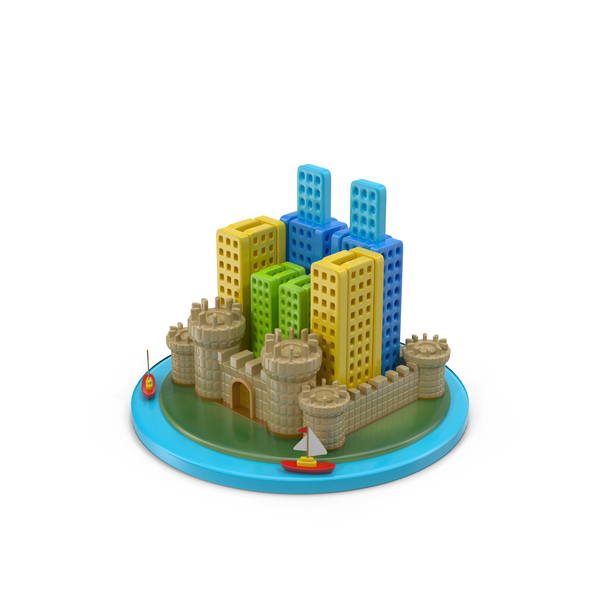 Castle City PNG & PSD Images