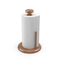 Paper Towel Roll on Holder PNG & PSD Images