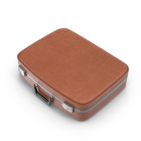 Leather Suitcase PNG & PSD Images