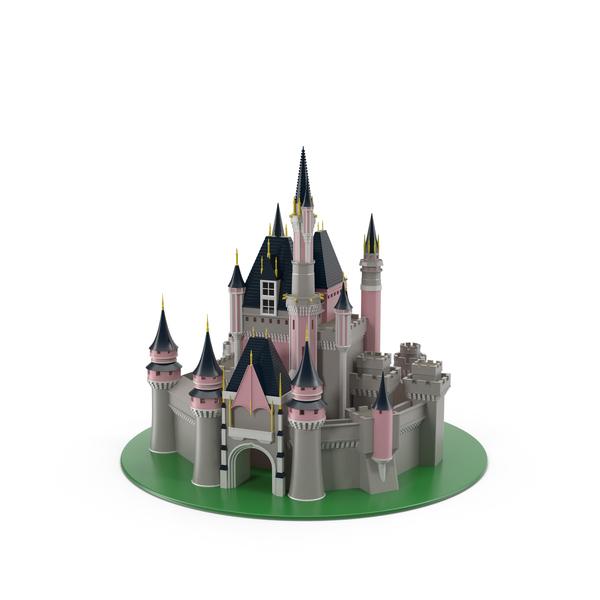 Fantasy castle PNG & PSD Images