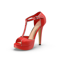 Womens Shoes Red PNG & PSD Images