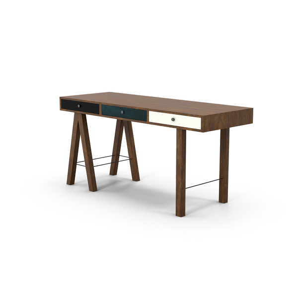 Desk with Drawers PNG & PSD Images