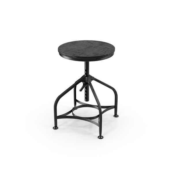 Industrial Stool Object