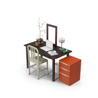 Office Set PNG & PSD Images