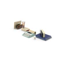 Desk Object Set PNG & PSD Images