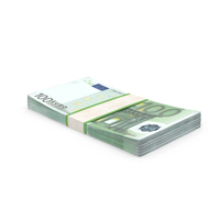 100 Euro Bill Stack PNG & PSD Images
