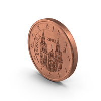 2 Cent Euro Coin PNG & PSD Images