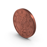 Euro 5 Cent Coin PNG & PSD Images