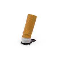 Snuffed Cigarette PNG & PSD Images