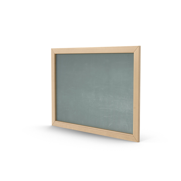 Chalkboard Green Object