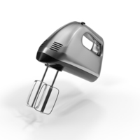 Hand Mixer Chrome Object