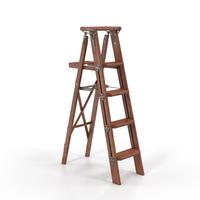 Vintage Painting Ladder PNG & PSD Images