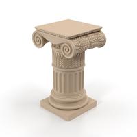 Ionic Column Pedestal PNG & PSD Images