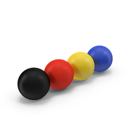 Croquet Balls Object