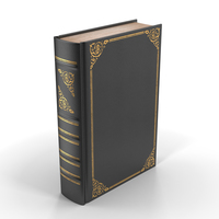 Classic Library Book PNG & PSD Images