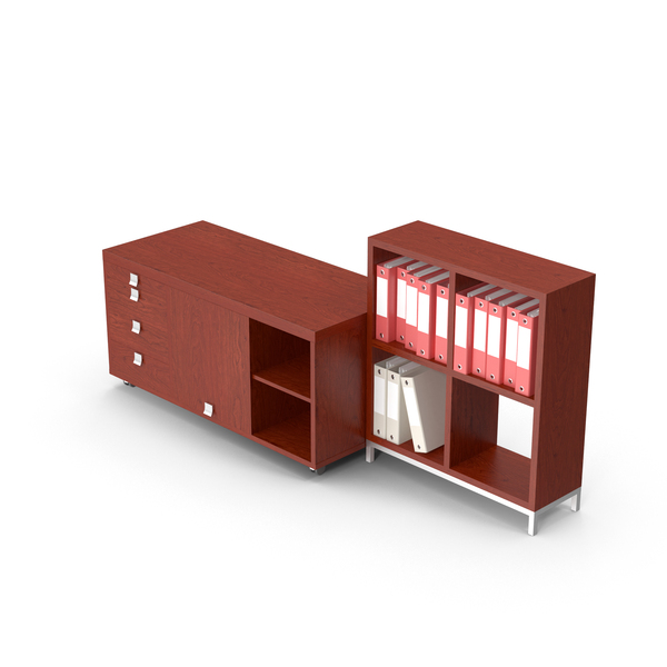 Office Cabinet Set PNG & PSD Images
