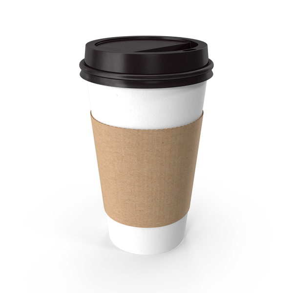To-Go Coffee Cup With Lid Object