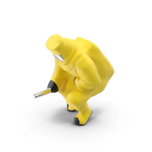 Hazmat Miniature Object