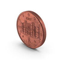 1 Cent Euro Coin PNG & PSD Images