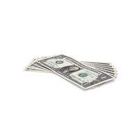 US 1 Dollar Bill Object