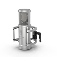 Brauner Phantom Classic Microphone PNG & PSD Images