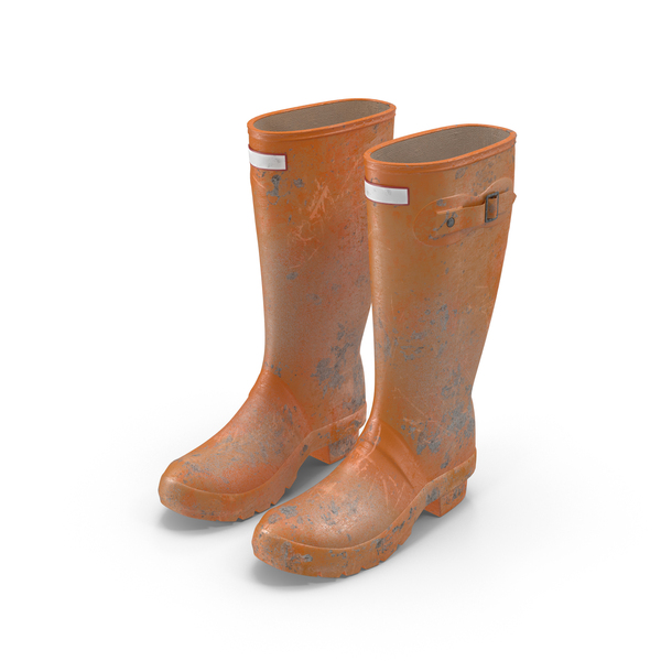 Rain Boots Dirty PNG & PSD Images